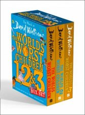 The World Of David Walliams The Worlds Worst Children 1 2  3 Box Set