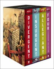 Divergent Series FourBook Collection Box Set Books 14 10th Anniversary Edition