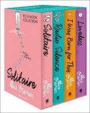 Alice Oseman FourBook Collection Box Set
