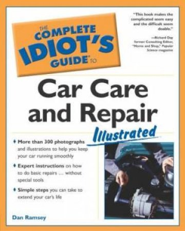 Complete Idiot's Guide To Car Care & Repair by Johnson-Cane & Cane