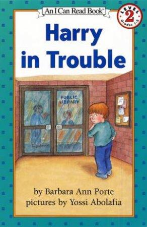 Harry In Trouble by Barbara Ann Porte