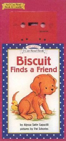 My First I Can Read: Biscuit Finds A Friend - Book & Tape by Alyssa Satin Capucilli