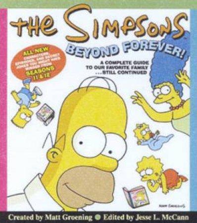 The Simpsons Beyond Forever! by Matt Groening & Jesse L McCann