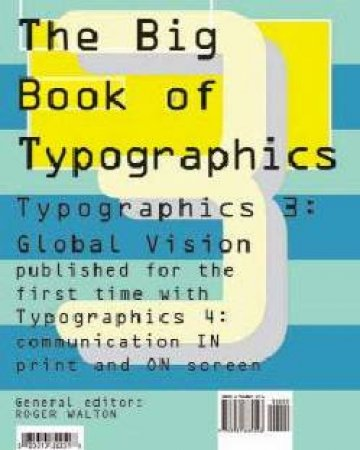 The Big Book Of Typographics 3 & 4 by Roger Walton