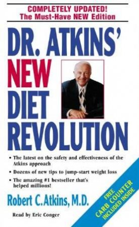 Dr Atkins' New Diet Revolution - Cassette by Dr Robert Atkins