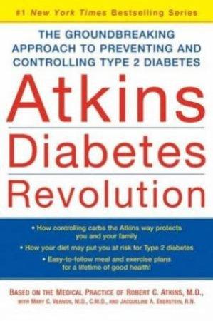 Atkins Diabetes Revolution - Large Print by Dr Robert Atkins