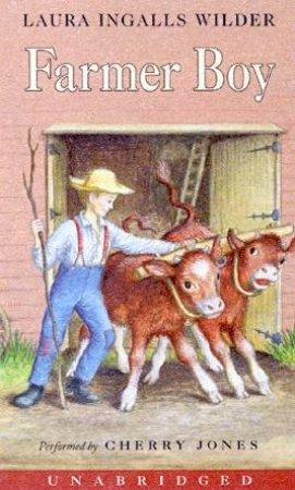 Farmer Boy - Cassette by Laura Ingalls Wilder