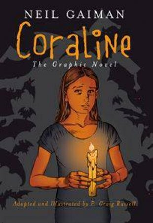 Coraline Graphic Novel by Neil Gaiman