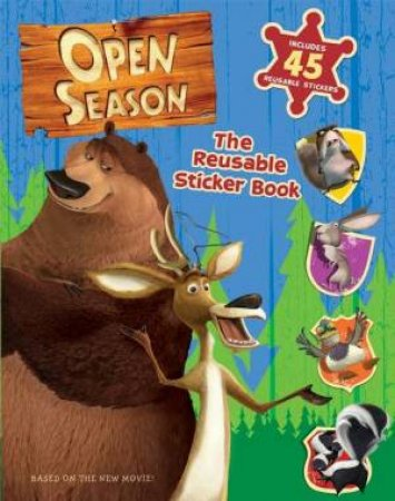 Open Season: The Reusable Sticker Book by Lana Jacobs