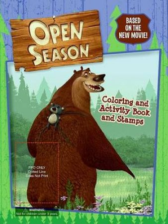 Open Season: Colouring and Activity Book with Stamps by Jennifer Frantz & Joe F Merkel