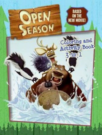 Open Season: Colouring and Activity Book 3-in-1 by Julia Simon Kerr