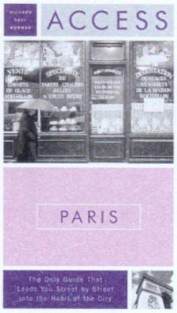 Access Paris - 8 ed by Richard Saul Wurman