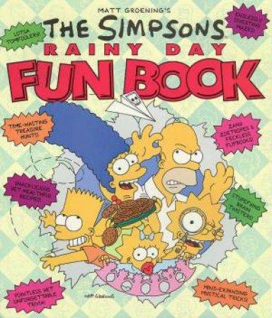 The Simpsons Rainy Day Fun Book by Matt Groening