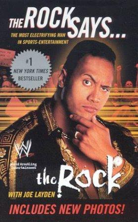 The Rock Says . . . by The Rock & Joe Layden