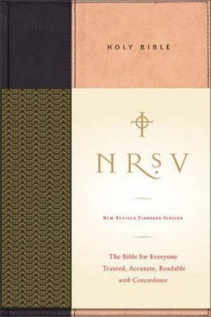 NRSV Standard Bible No Apocrypha by Unknown