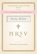 NRSV HarperCollins Catholic Gift Bible White