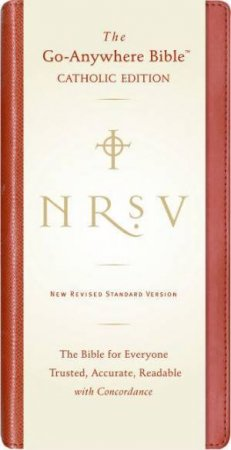 New Revised Standard Version Go Anywhere Catholic Bible (Red) by Unknown