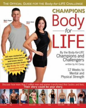 Champions Body For Life by Art Carey