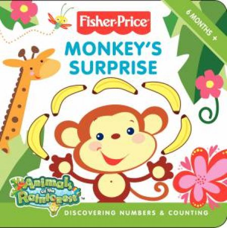 Monkey's Surprise: Discovering Numbers and Counting by Lucy Rosen