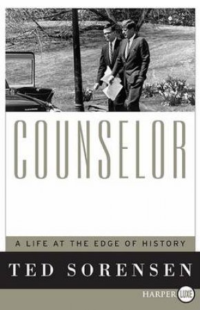 Counselor Large Print by Ted Sorensen