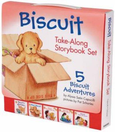 Biscuit Take-Along Storybook Set by Alyssa Satin Capucilli & Pat Schories