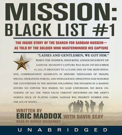 Mission: Black List #1 CD by Eric Maddox