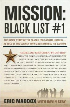 Mission: Black List by Eric Maddox & Davin Seay