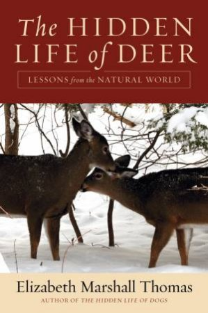 Hidden Life of Deer: Lessons from the Natural World by Elizabeth Marshall Thomas