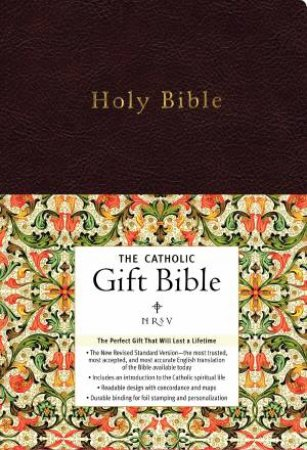 NRSV The Catholic Gift Bible by Various