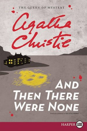 And Then There Were None LP by Agatha Christie