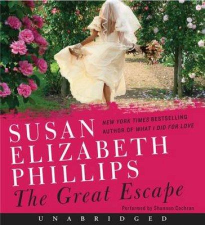 The Great Escape Unabridged CD by Susan Elizabeth Phillips
