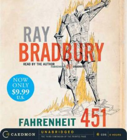 Fahrenheit 451 [Unabridged Low Price CD] by Ray Bradbury