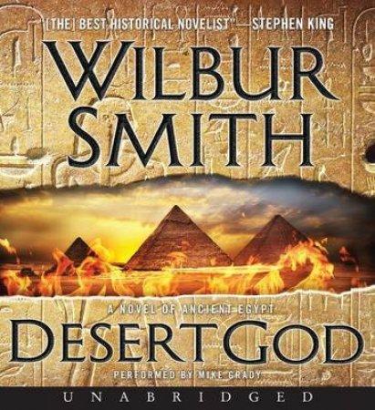 Desert God [Unabridged CD] by Wilbur Smith
