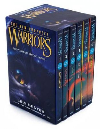 Warriors: The New Prophecy Box Set: Volumes 1 To 6 by Erin Hunter