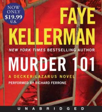 A Decker/Lazarus Novel [Unabridged Low Price CD] by Faye Kellerman