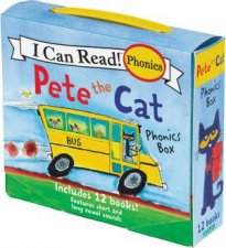 I Can Read! Pete The Cat Phonics Box: Includes 12 Mini-Books Featuring Short And Long Vowel Sounds by James Dean