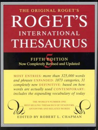 Roget's International Thesaurus by Robert L Chapman