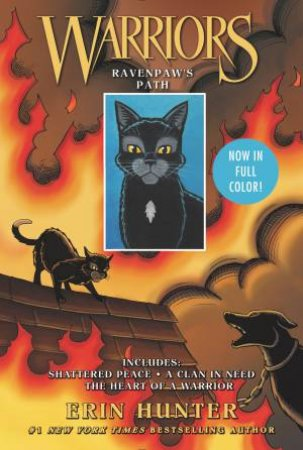 Warriors: Ravenpaw's Path Manga Collection (3 Books-In-1)