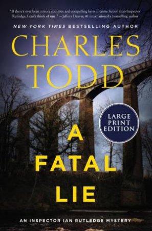 A Fatal Lie (Large Print)
