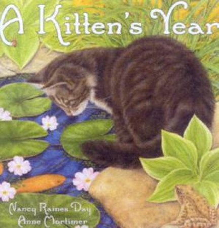 A Kitten's Year by Nancy Raines Day & Anne Mortimer