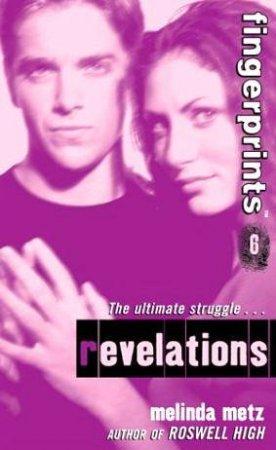 Revelations by Melinda Metz
