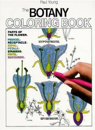 The Botany Coloring Book by Young