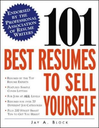 101 Best Resumes To Sell Yours by Block