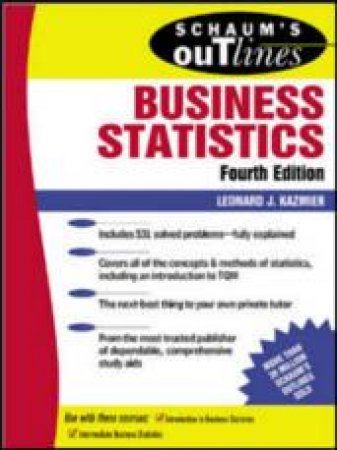 Schaum's Outline Of Business Statistics by Kazmier