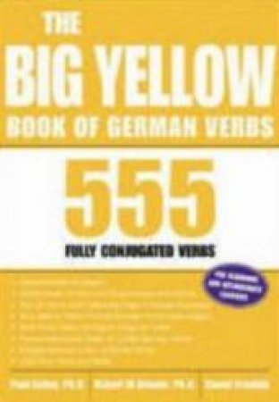 The Big Yellow Book Of German Verbs by Listen