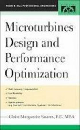 Microturbines Design And Performance Optimization by Claire Marguerite Soares