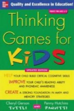 Thinking Games For Kids by Tuttle
