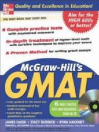 McGraw-Hill's GMAT With CD-Rom by Various