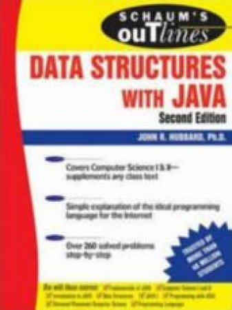 Schaum's Outline of Data Structures with Java - 2 Ed by John Hubbard