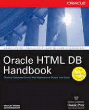 Oracle HTML DB Handbook by Brad Brown